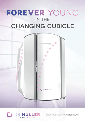 Collagenic CollaShower Changing Cubicle